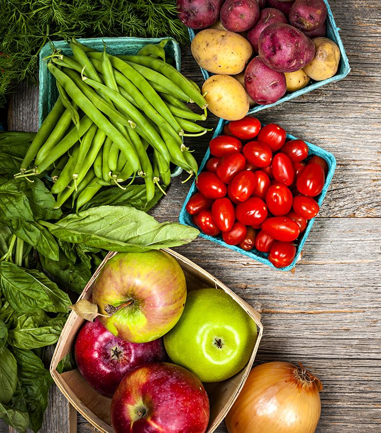 fruta verdura